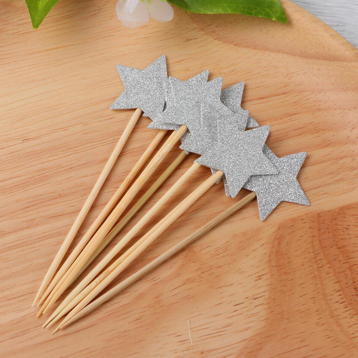Star Toppers Dessert Decorations Wedding