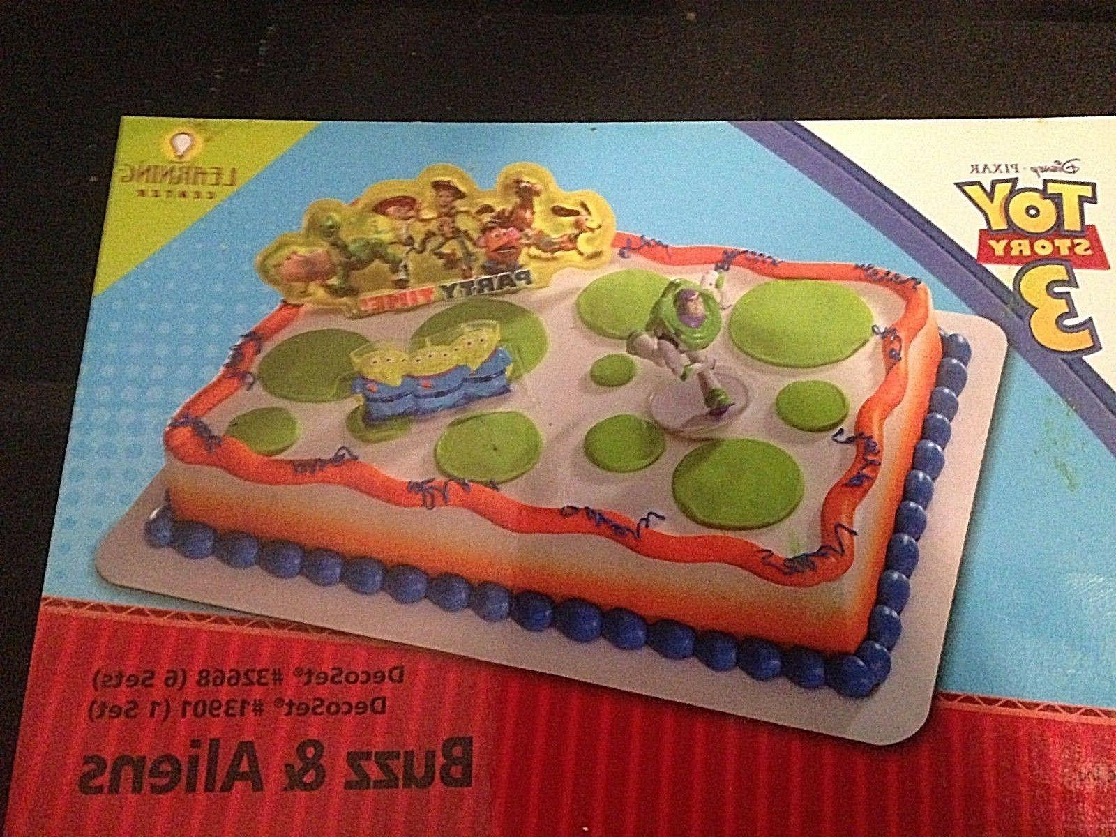 DecoPac TOY STORY BUZZ ALIENS CAKE NEW