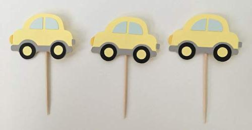 Transportation Cupcake Set