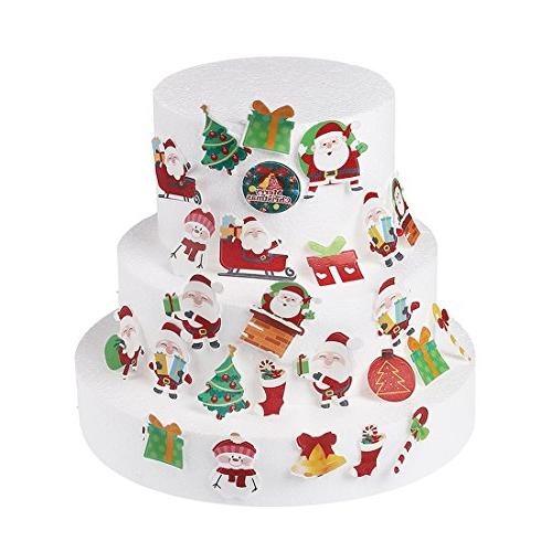 GEORLD Edible Christmas Paper Cake &