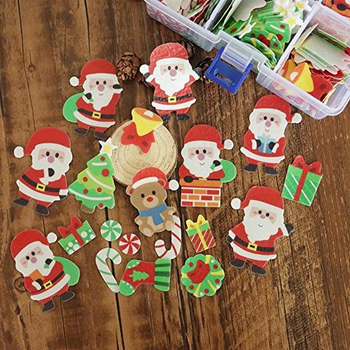 GEORLD 48 Pcs Wafer Edible Paper Party Cake Cupcake Decoration