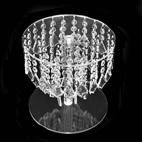 Butterflyevent Wedding Bling Chandelier Cake Transparent Cascading Wedding Party Disaplay