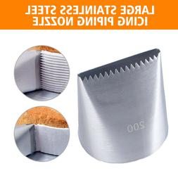 Large Stainless Steel Icing Piping Nozzle Cake Cream Decorat