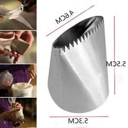 Large Stainless Steel Icing Piping Nozzles Pastry Tip Cream