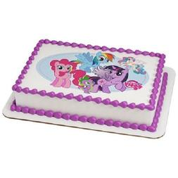Whimsical Practicality My Little Pony Edible Icing Image