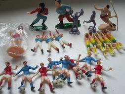 Lot of 22 New Small Sports Figures For Cake Toppers or Decor