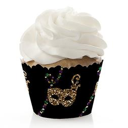Mardi Gras - Masquerade Party Decorations - Party Cupcake Wr