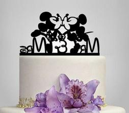 Mickey Minnie Cake Topper Wedding Party Decoration Engagemen