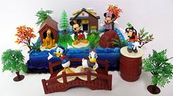 Mickey Mouse Clubhouse Birthday Cake Topper Featuring Mickey