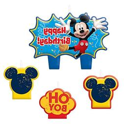 """Mickey Mouse 1 1/4"""" Molded Cake Candles"""