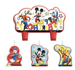 Amscan Mickey Mouse Party Supplies On The Go Candles