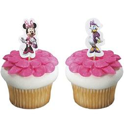 Minnie Mouse and Daisy Duck Cupcake Picks Set of 12
