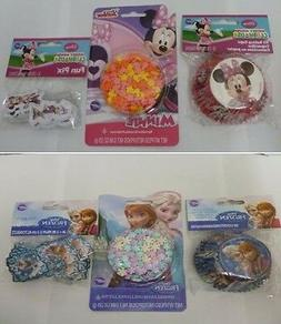 Minnie Mouse, Frozen Cupcake Decorating Set, 50 Cups, 24 Top