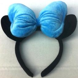 Disney Minnie Mouse Special Edition Blue Bow Head Band, Grea