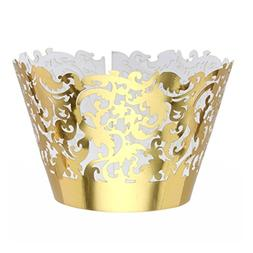 Tinksky Muffin Cup Cake Wrapper Case Trays Party Liner Decor