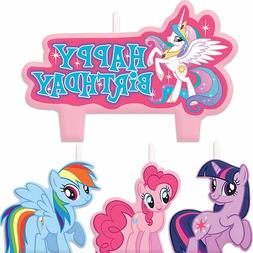 My Little Pony Candles Girls Birthday Party Supplies Cake To
