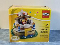 New and Sealed LEGO 40153 Iconic Birthday Cake Table Decorat
