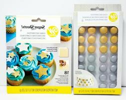 New Wilton Cake Decorating Supplies Lot Edible Decorations