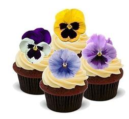 Baking Bling Novelty Spring Pansies Flower Mix Easter - Stan