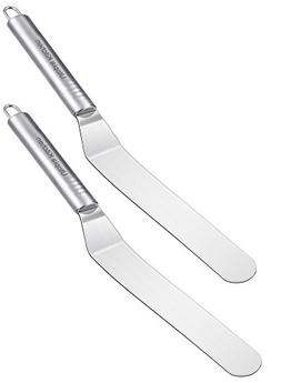 Offset Icing Spatula Knife Blade Stainless Steel Filling Cre