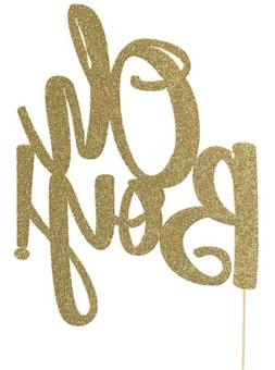 Oh boy baby boy shower cake topper party decorations gold