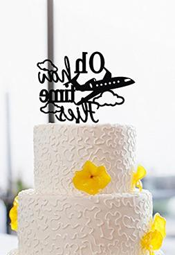 oh how time flies wedding cake toppers