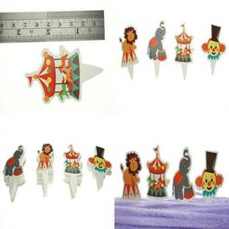 party circus animal cake cupcake decorations toppers