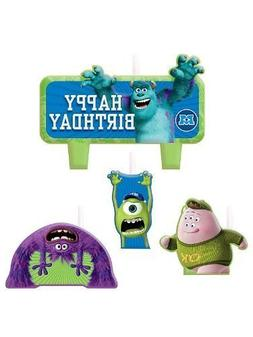 Amscan Party Time Disney Monsters University Molded Mini Cha