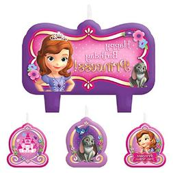 Amscan Party Time Molded Mini Character Birthday Candle Set