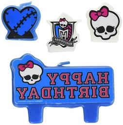Amscan Party Time Monster High Molded Mini Character Birthda