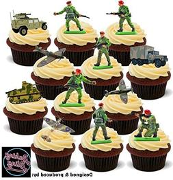 12 x Party Pack Toy Soldiers Mix Boys Toys Fun Army - Fun No
