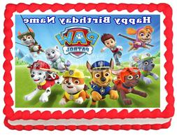 PAW PATROL Edible Party Cake topper image Decoration