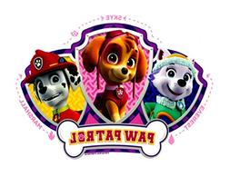 Paw Patrol Skye, Everest and Mars Licensed Edible Cake Toppe
