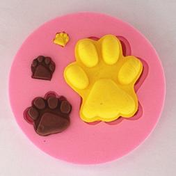 Longzang Small Pawprint Silicone Mold Sugar Craft DIY Gumpas