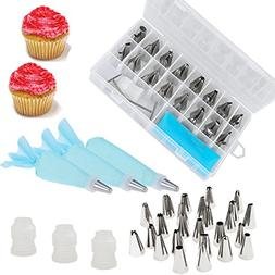 Momoday® Piping Tips 41 Pieces Cake Decorating Supplies Tip