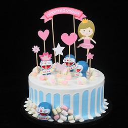 Cake Decorations Baby Princess Girl Diy Happy