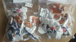 Puppy Dog  Cupcake Rings Cake Toppers 24 Birthday Party Favo
