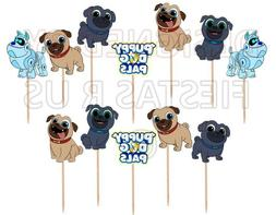 Puppy Dog Pals Cupcake Toppers 12 or 24 pc. Party Supplies C