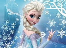 Queen Elsa Frozen Snowflake Princess Edible Frosting Image 1