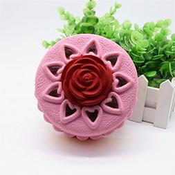 1 piece Rose Cake Squeeze Toy Squishy Squishes Slow Rising S