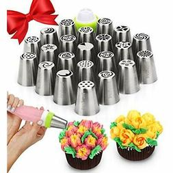 Russian Icing Dispensers & Tips Piping - Cake Decorating Sup