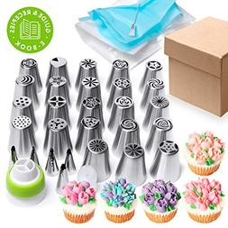 Russian piping tips Set 44 pcs - Cakes decorating supplies -