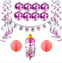 Baby Shower Decorations Girl - It 's a Girl Shower Letter Ba