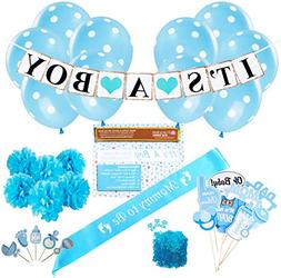 Baby Shower Party Decorations Kit: It's A Boy Blue Theme Wel