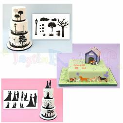 NOVELTY CHESS PIECES 12 STANDUP Edible Image Cake Toppers birthday fun party