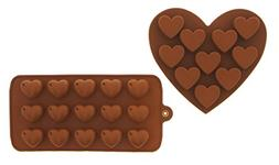 Silicone Chocolate Hard Candy Mold Set Heat Resistant - 2 Pi