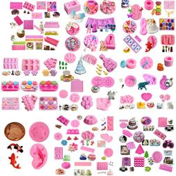 Silicone Fondant Mold Cake Decorating DIY Chocolate Sugarcra