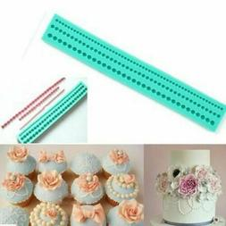 Silicone Pearls Beads Mould Fondant Cake Tools Cupcake Decor