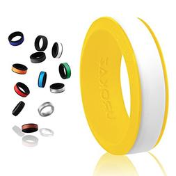 UROKAZ Silicone Wedding Ring, The Only Ring that Fits Your L