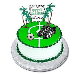 Soccer Foot Ball Birthday Party Cake Decoration Topper Toys